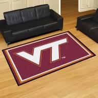 Virginia Tech Hokies 5' x 8' Area Rug