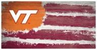 "Virginia Tech Hokies 6"" x 12"" Flag Sign"