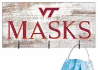 "Virginia Tech Hokies 6"" x 12"" Mask Holder"