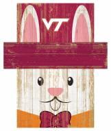 "Virginia Tech Hokies 6"" x 5"" Easter Bunny Head"