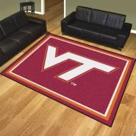 Virginia Tech Hokies 8' x 10' Area Rug