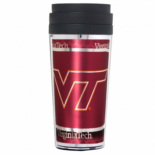 Virginia Tech Hokies Acrylic Travel Tumbler