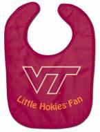 Virginia Tech Hokies All Pro Little Fan Baby Bib