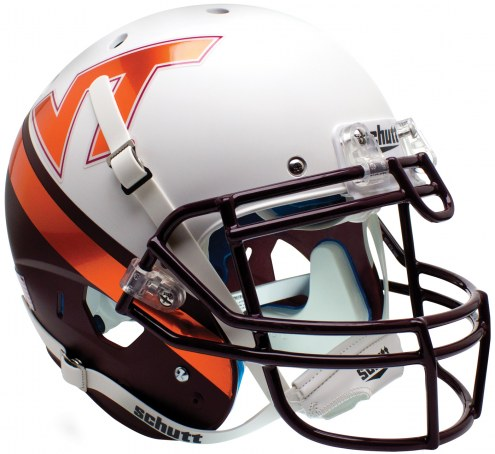 Virginia Tech Hokies Alternate 8 Schutt XP Collectible Full Size Football Helmet