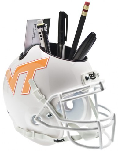 Virginia Tech Hokies Alternate Schutt Football Helmet Desk Caddy