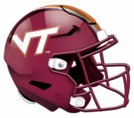 Virginia Tech Hokies Authentic Helmet Cutout Sign