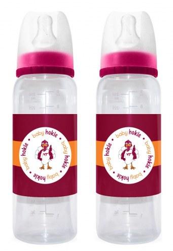 Virginia Tech Hokies Baby Bottles - 2 Pack