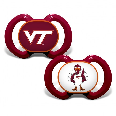 Virginia Tech Hokies Baby Pacifier 2-Pack