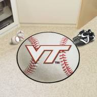 Virginia Tech Hokies Baseball Rug