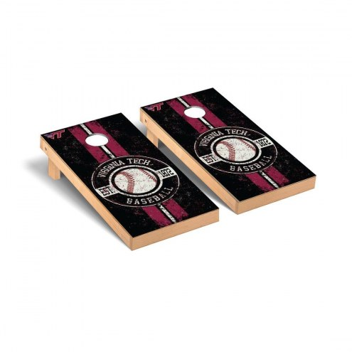 Virginia Tech Hokies Baseball Vintage Cornhole Game Set