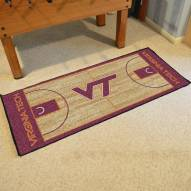 Virginia Tech Hokies Basketball Court Runner Rug