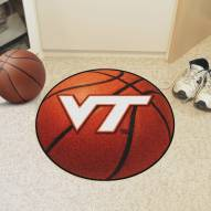 Virginia Tech Hokies Basketball Mat
