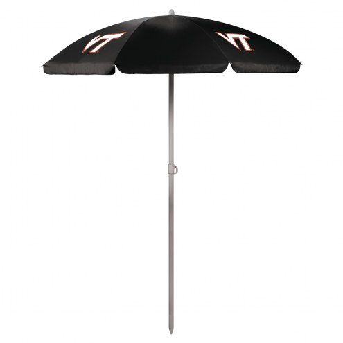 Virginia Tech Hokies Beach Umbrella