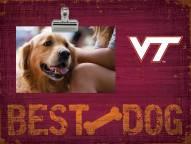 Virginia Tech Hokies Best Dog Clip Frame