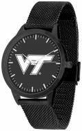 Virginia Tech Hokies Black Dial Mesh Statement Watch