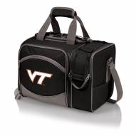 Virginia Tech Hokies Black Malibu Picnic Pack