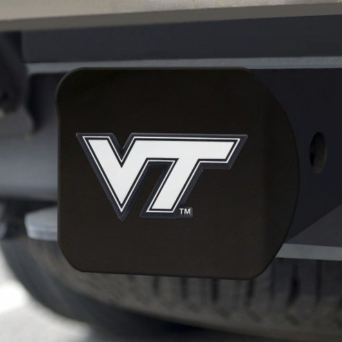 Virginia Tech Hokies Black Matte Hitch Cover
