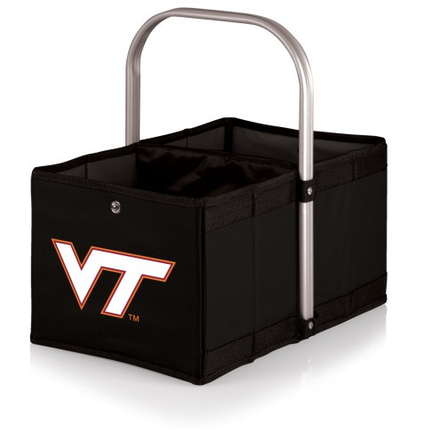 Virginia Tech Hokies Black Urban Picnic Basket