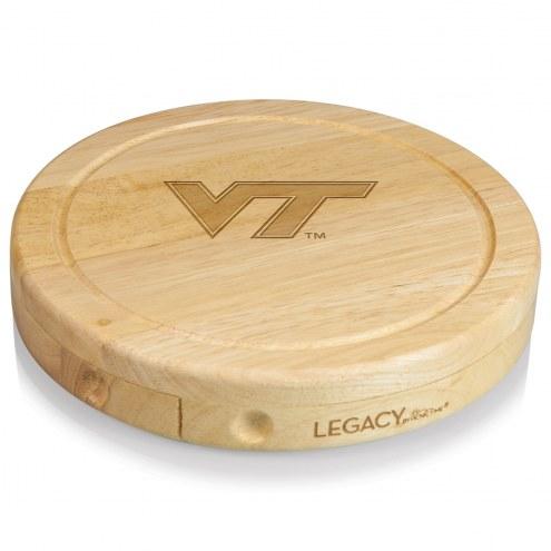 Virginia Tech Hokies Brie Cheese Board