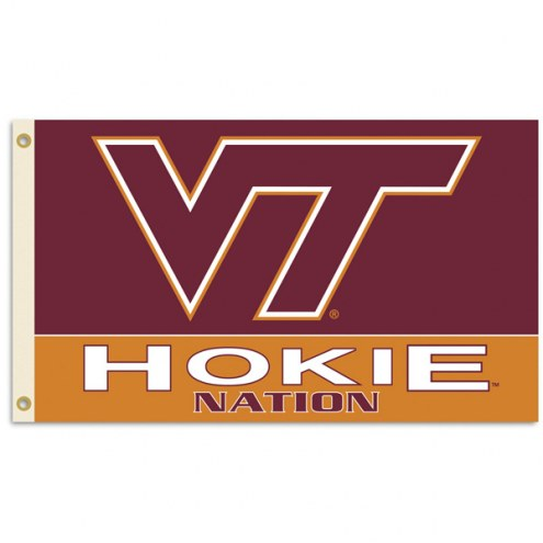 Virginia Tech Hokies Premium 3' x 5' Flag