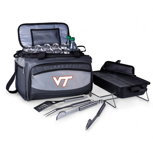Virginia Tech Hokies Buccaneer Grill, Cooler and BBQ Set