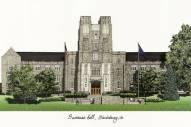 Virginia Tech Hokies Campus Images Lithograph