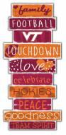 Virginia Tech Hokies Celebrations Stack Sign