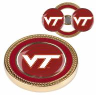 Virginia Tech Hokies Challenge Coin with 2 Ball Markers