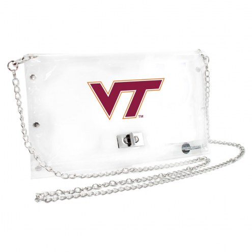 Virginia Tech Hokies Clear Envelope Purse