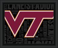 Virginia Tech Hokies College Word Cloud