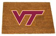 Virginia Tech Hokies Colored Logo Door Mat