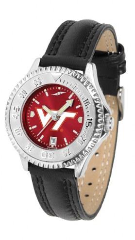 Virginia Tech Hokies Competitor AnoChrome Women's Watch