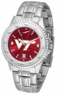 Virginia Tech Hokies Competitor Steel AnoChrome Men's Watch