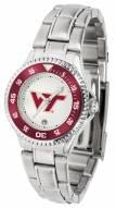 Virginia Tech Hokies Competitor Steel Women's Watch