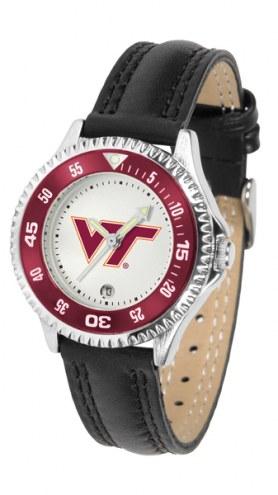 Virginia Tech Hokies Competitor Women's Watch