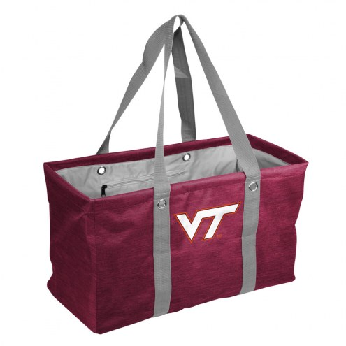 Virginia Tech Hokies Crosshatch Picnic Caddy