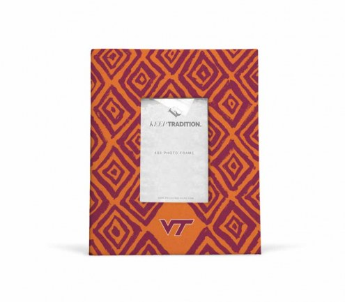 Virginia Tech Hokies Diamond Picture Frame
