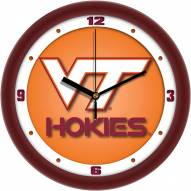 Virginia Tech Hokies Dimension Wall Clock