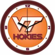 Virginia Tech Hokies Dimension Wall Clock