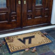 Virginia Tech Hokies Door Mat