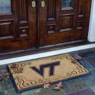 Virginia Tech Hokies Door Mat