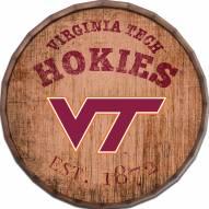 "Virginia Tech Hokies Established Date 24"" Barrel Top"