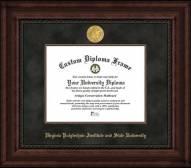 Virginia Tech Hokies Executive Diploma Frame
