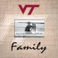 Virginia Tech Hokies Family Picture Frame