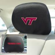 Virginia Tech Hokies Headrest Covers