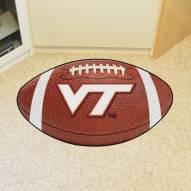 Virginia Tech Hokies Football Floor Mat
