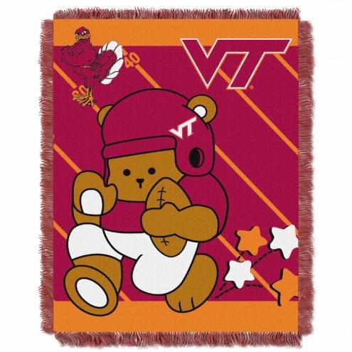 Virginia Tech Hokies Fullback Baby Blanket