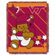 Virginia Tech Hokies Fullback Baby Blanket