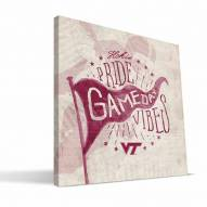 Virginia Tech Hokies Gameday Vibes Canvas Print