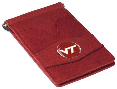 Virginia Tech Hokies Garnet Player's Wallet